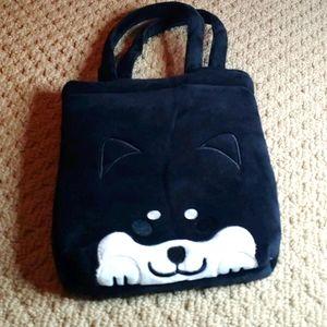 Shiba Inu Black 🐕 mini bag